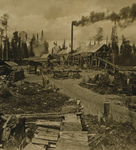 Free Picture of Lumber Camp in New Hampshire