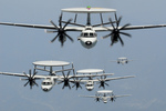 Free Picture of Five E-2C Hawkeyes