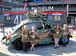 Free Picture of Girl Scouts and the Operation Thin Mint Volkswagen Beetle