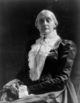 Free Picture of Susan B Anthony Seated