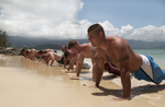 Free Picture of Marines During an Obstacle Course