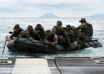 Free Picture of Marines Guiding an Assault Boat