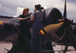Free Picture of Real Riveters Assembling a Plane