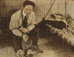 Free Picture of Harry Houdini in Balls and Chains