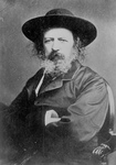 Free Picture of Alfred Tennyson in a Hat