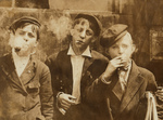 Free Picture of Newsie Boys Smoking