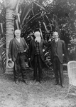 Free Picture of Thomas Edison, John Burroughs, and Henry Ford