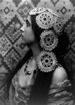 Free Picture of Woman in Profile, Crochet in Her Hair