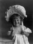 Free Picture of Girl Wearing a Dress and Bonnet
