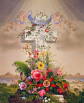 Free Picture of Cherubs and Cross