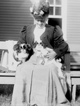 Free Picture of Woman With Japanese Spaniels
