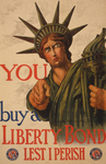 Free Picture of Statue of Liberty War Bond