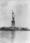 Free Picture of Statue of Liberty in 1914