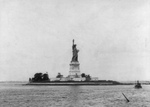 Free Picture of Statue of Liberty in 1891