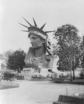 Free Picture of Head of Liberty Enlightening the World