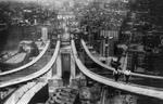 Free Picture of Constructing the Manhattan Bridge