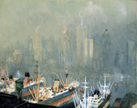 Free Picture of Ships in Brooklyn Harbor
