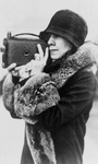 Free Picture of Grace Coolidge Taking a Picture
