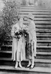 Free Picture of Helen Keller Reading Grace Coolidge's Lips