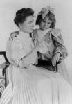 Free Picture of Helen Keller Teaching Sign Language