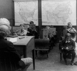 Free Picture of Students in a Class, Reading