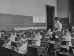 Free Picture of Teacher and Students in a Classroom
