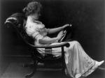 Free Picture of Helen Adams Keller Reading