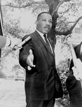 Free Picture of MLK Speaking to the Press