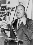 Free Picture of MLK at a Press Conference
