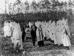 Free Picture of KKK Funeral Ceremony