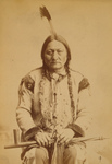 Free Picture of Sitting Bull With Peace Pipe