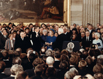 Free Picture of Ronald Reagans Inauguration