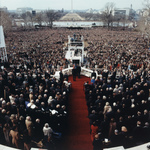 Free Picture of Reagan's Inauguration