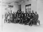 Free Picture of Group of Men With Booker T Washington