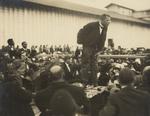 Free Picture of Booker Taliaferro Washington Giving a Speech