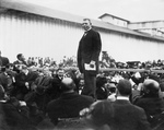 Free Picture of Booker T Washington on a Stage