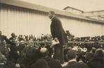 Free Picture of Booker Taliaferro Washington Delivering a Speech