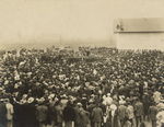 Free Picture of Crowd Listening to Booker T Washington
