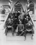 Free Picture of Booker T Washington in a Group