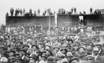 Free Picture of Crowd Waiting for Booker T Washington