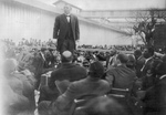 Free Picture of Booker T Washington Giving a Speech