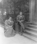Free Picture of Booker T Washington and a Woman