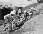 Free Picture of US Marines on Iwo Jima