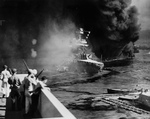 Free Picture of USS California and USS Oklahoma
