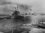 Free Picture of Oil Tanker USS Neosho During Attack on Pearl Harbor