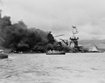 Free Picture of USS Arizona Wreckage