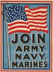 Free Picture of American Flag For Military Recruiting