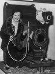 Free Picture of Worlds Largest Camera in 1932.