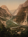 Free Picture of Curvy Road and River, Norway