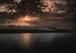Free Picture of Midnight Sun Over Bell Sound